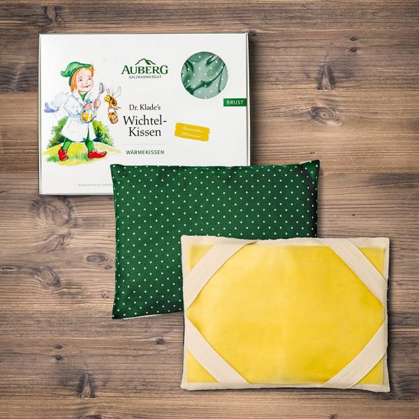 Wichtel-Kissen M-S gelb